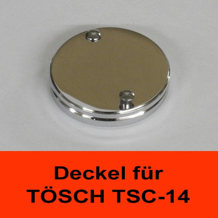 TÖSCH AK-TSC-14-CHROM Abdeckklappe für Türspione