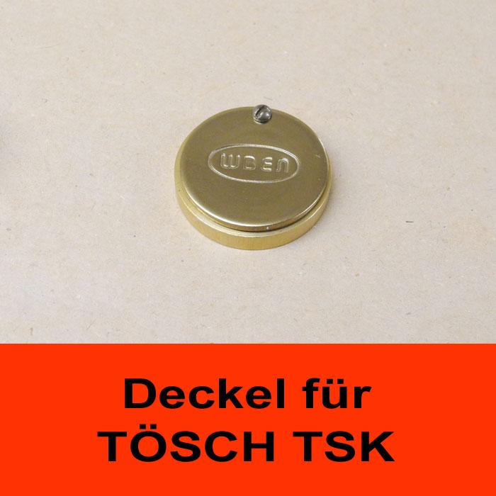 TÖSCH AK-TSK-MESSING Abdeckklappe für Türspione