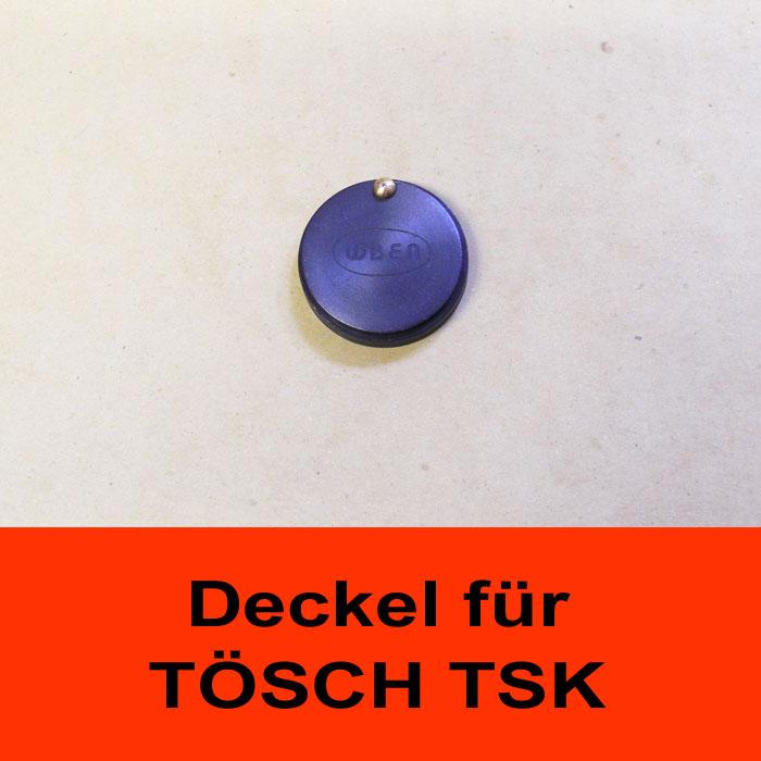 TÖSCH AK-TSK-SCHWARZ Abdeckklappe für Türspione