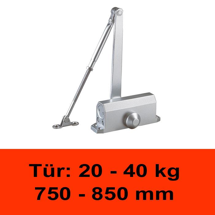 TÖSCH 402K Türschliesser 20-40 kg, mit Knickarm