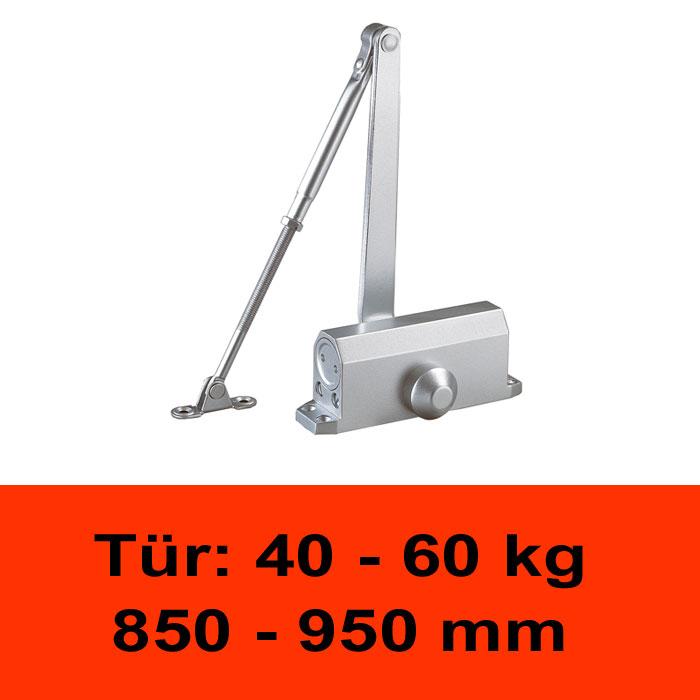 TÖSCH 403K Türschliesser 40-60 kg, mit Knickarm
