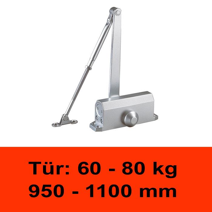 TÖSCH 404K Türschliesser 60-80 kg, mit Knickarm