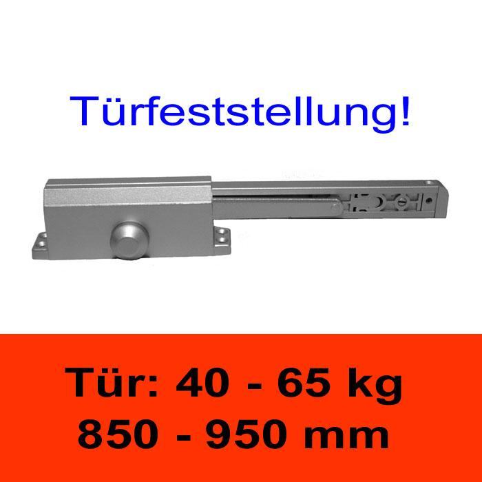 TÖSCH 603G Türschliesser mit Türfeststellung 40-65 kg, mit Gleitarm