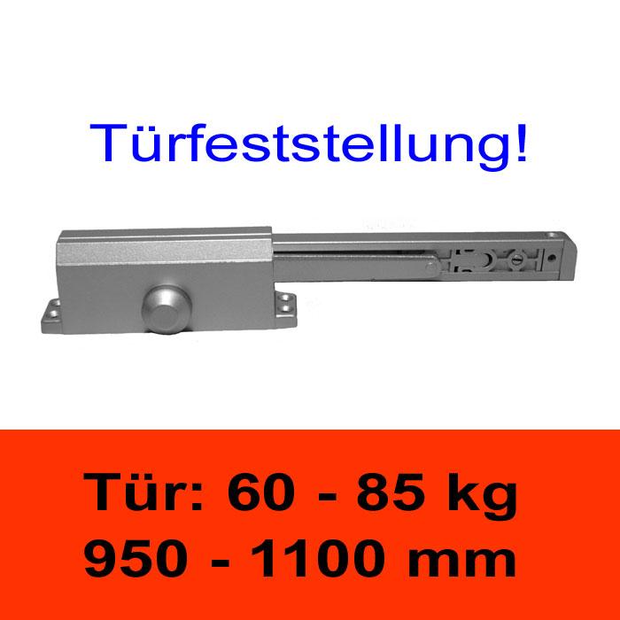 TÖSCH 604G Türschliesser mit Türfeststellung 60-85 kg kg, mit Gleitarm