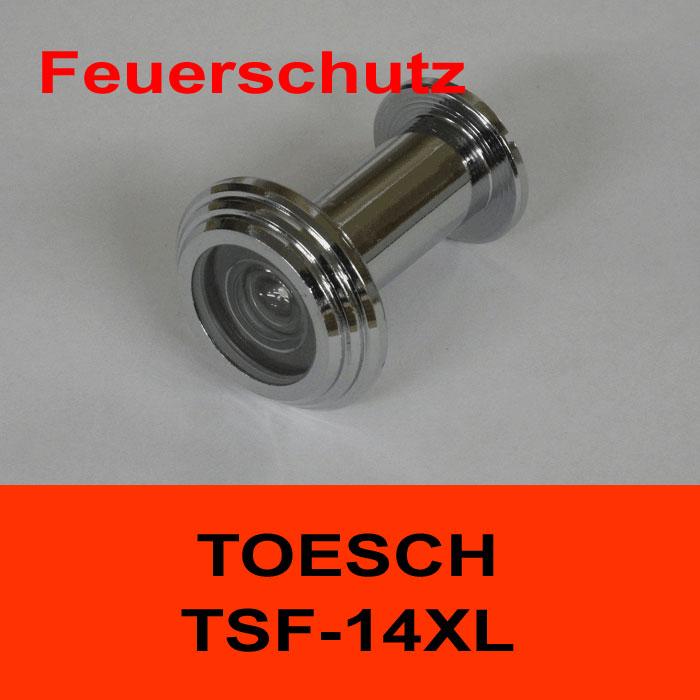 TÖSCH TSF-14XL Türspion für Feuerschutztüre