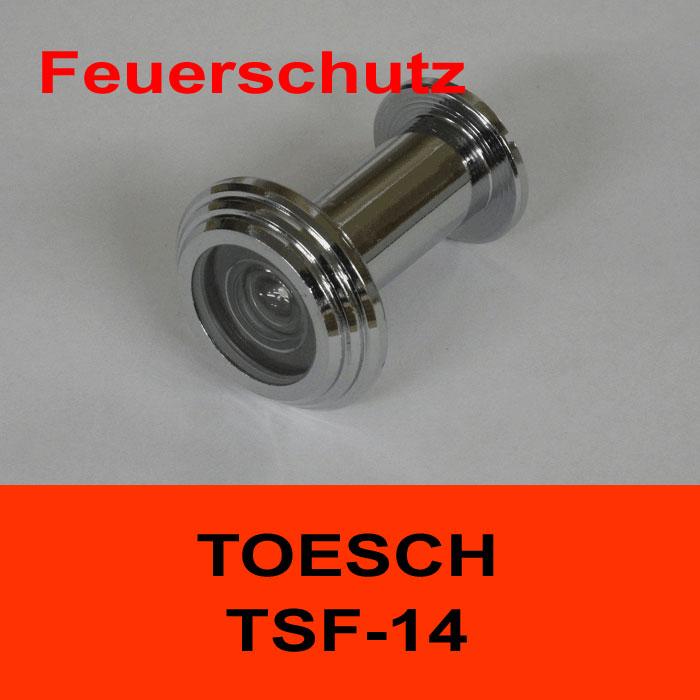 TÖSCH TSF-14 Türspion für Feuerschutztüre