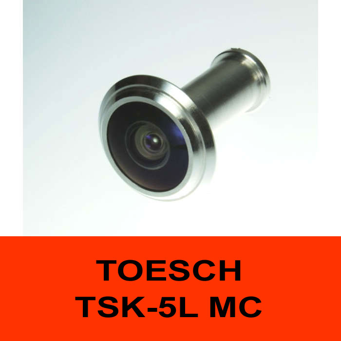 TÖSCH TSK-5L MC door viewer Komfort, antireflexive optic