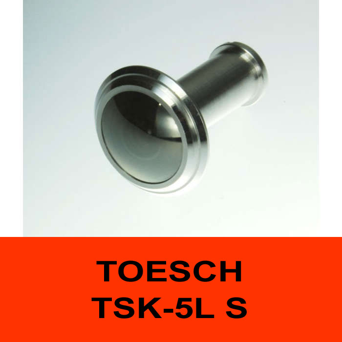 TÖSCH TSK-5L S Türspion Komfort, verspiegelt