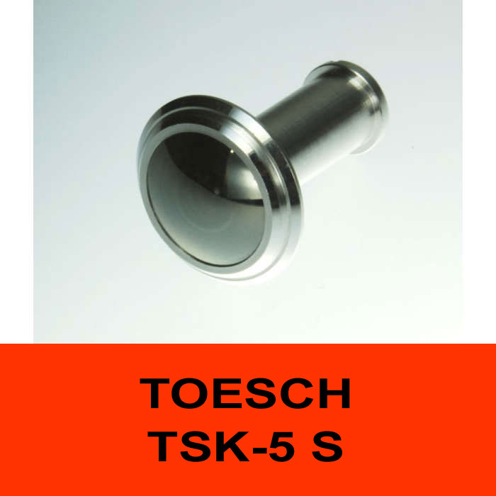 TÖSCH TSK-5 S door viewer Komfort, reflective front lense