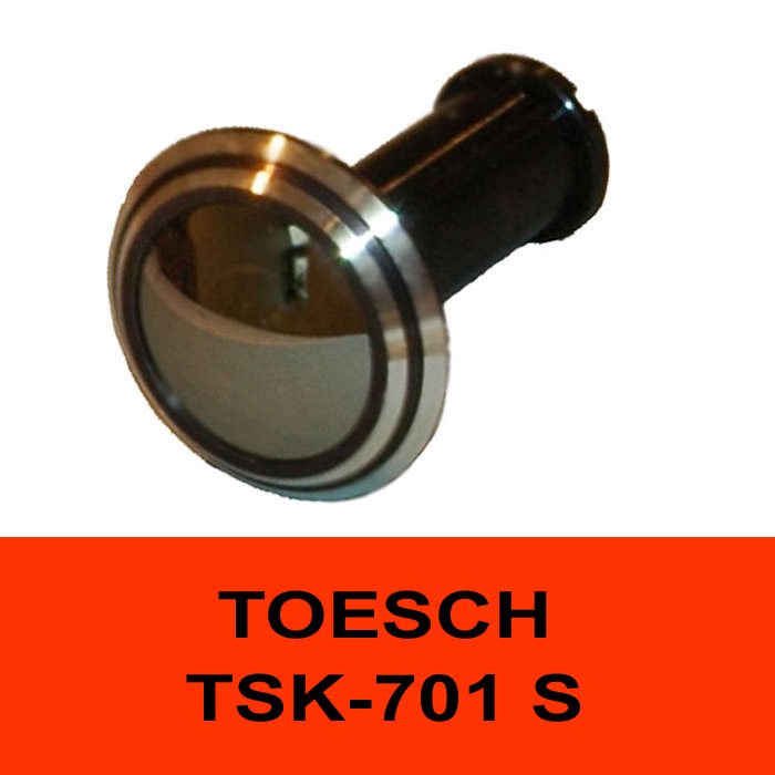 TÖSCH TSK-701 S door viewer Komfort, reflective front lense