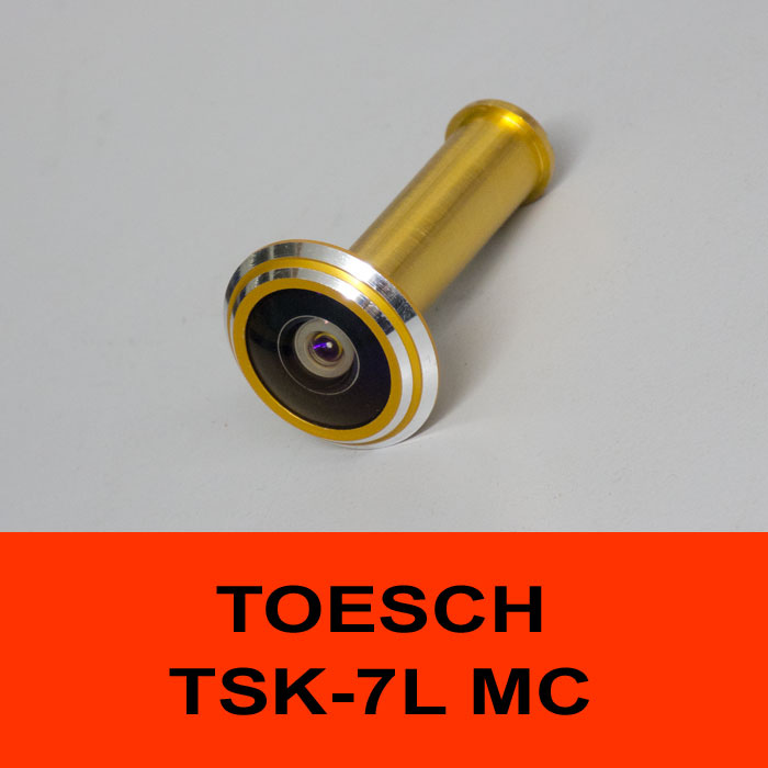TÖSCH TSK-7L MC door viewer Komfort, antireflexive optic