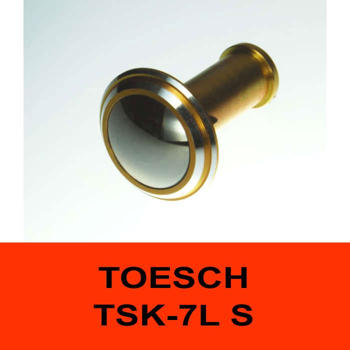 TÖSCH TSK-7L S Türspion Komfort, verspiegelt