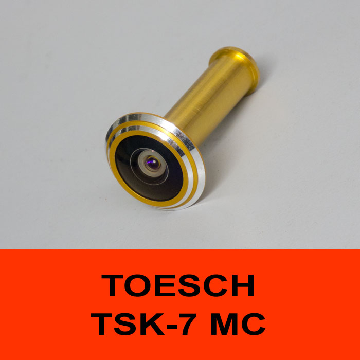 TÖSCH TSK-7 MC door viewer Komfort, antireflexive optic