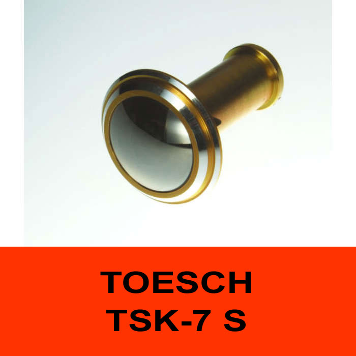 TÖSCH TSK-7 S door viewer Komfort, reflective front lense